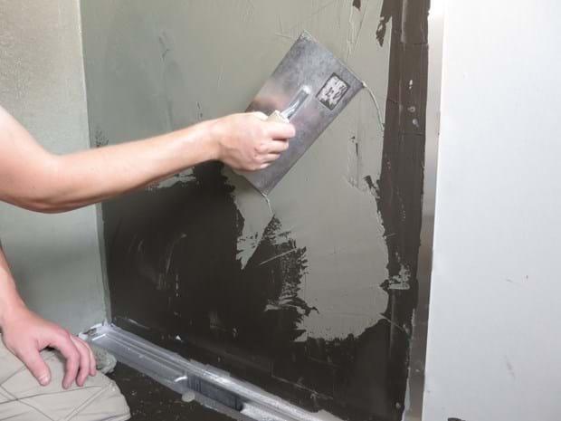 vådrumsmembran badeværelse Sikring af vådrum | Vådrumssikring / Vådrumsmembran i badeværelser vådrumsmembran badeværelse