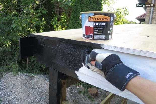 Moderne Om træbeskyttelse | Maling med træbeskyttelse YS09