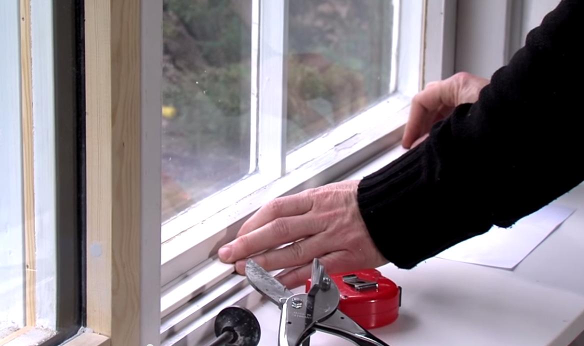 Massivt Tætning af utætte vinduer | Tætning af gamle trævinduer CO86