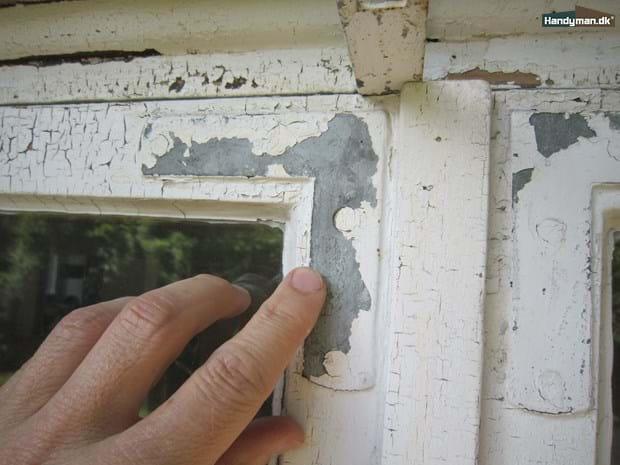 Sensationelle Hængsler og hjørnebånd | Maling af gamle vinduer udendørs JK86