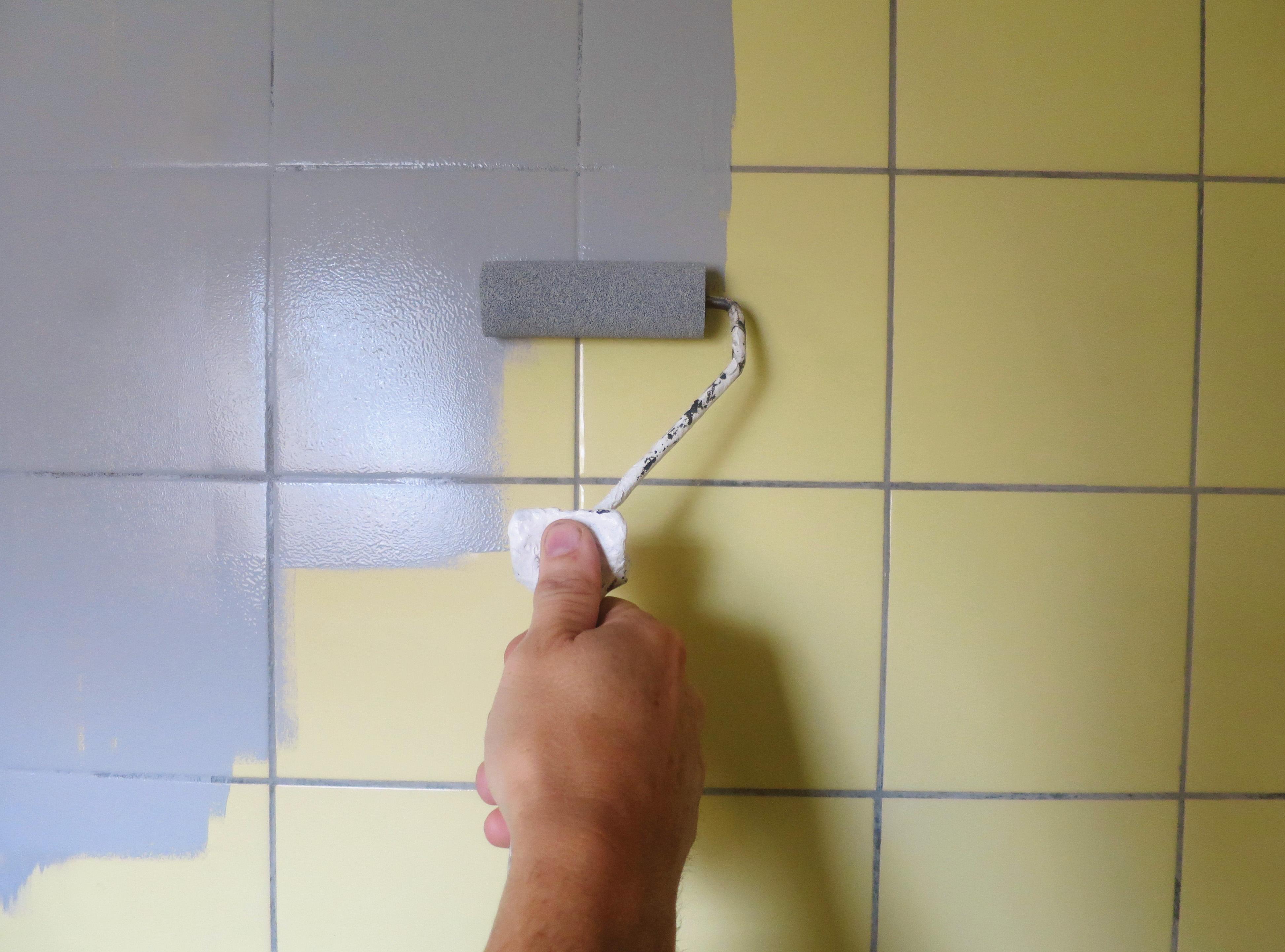 maling badeværelse glans