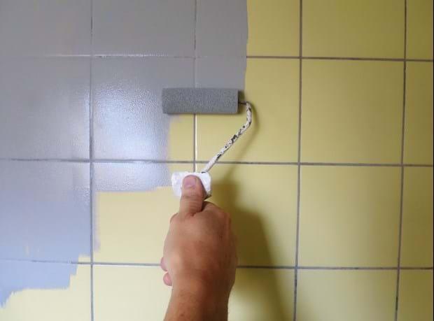 badeværelse maling Maling af fliser | Maling af fliser badeværelse maling
