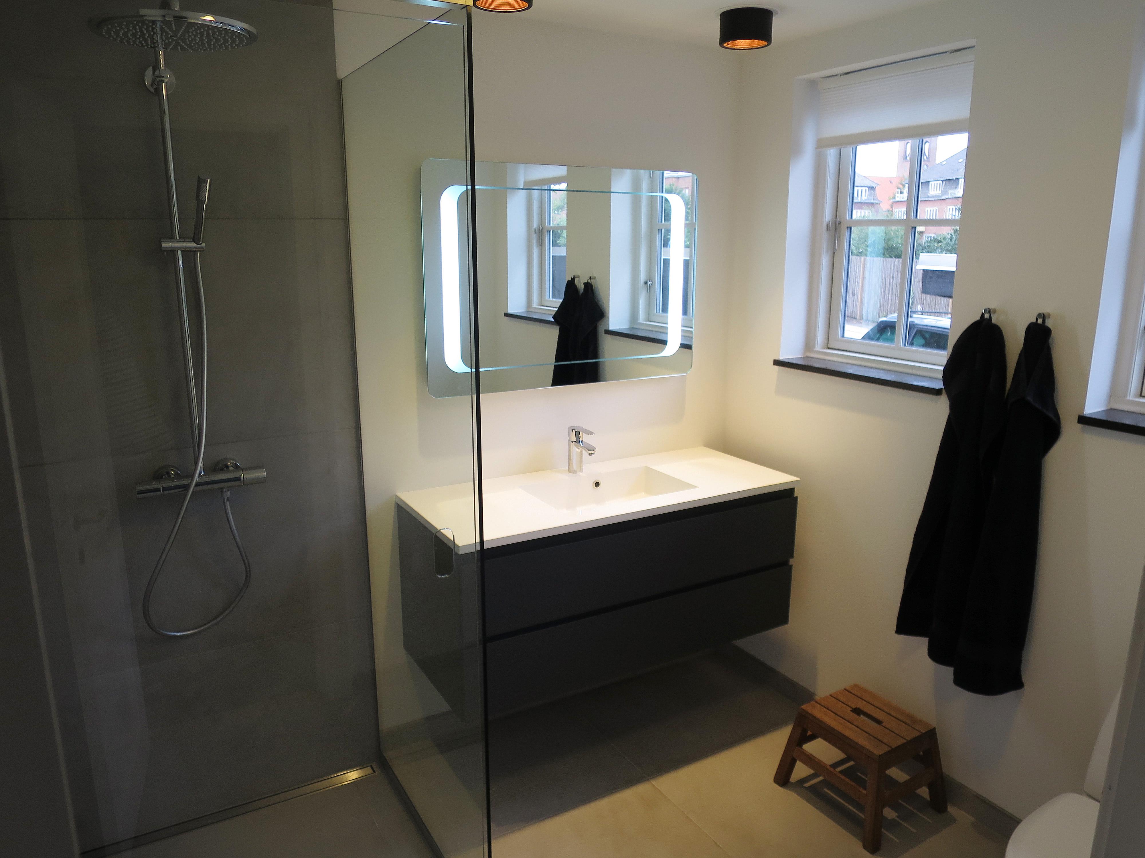 nyt badeværelse gør det selv