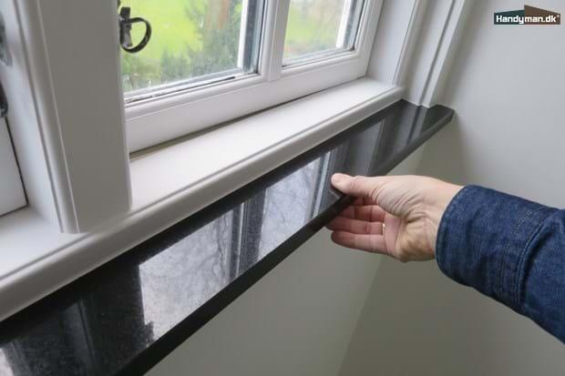 Moderigtigt Monter selv en vinduesplade i granit | Montage af vinduesplade i DD79