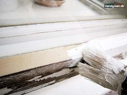 Moderigtigt Maling af vinduer | Maling af vinduer udendørs JF95